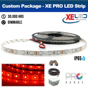 XE PRO 5M RED Package IP65 Kit