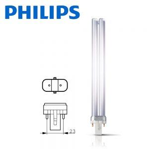 Philips Master PL-S G23 2P 9W Fluorescent 840