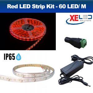 5M RED IP45 LED Strip Light, DIY Value Kit