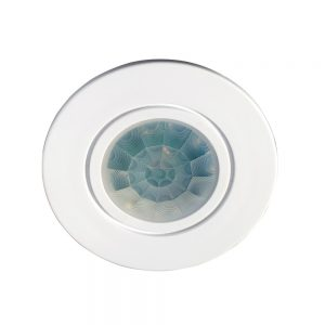 Robus PROTON 360 DEGREE PIR WITH FLUSH FRONT White