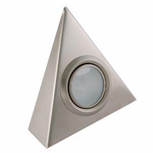 Sensio Replacement 12V Trangle Cabinet Light 20W G4 B/Steel