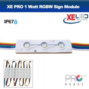 XE PRO 0.96W 3 LED Sign Module IP67 12V RGBW